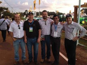 Bellota team at Agrishow show in Brazil